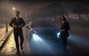 Lexus RC F dla Men in Black