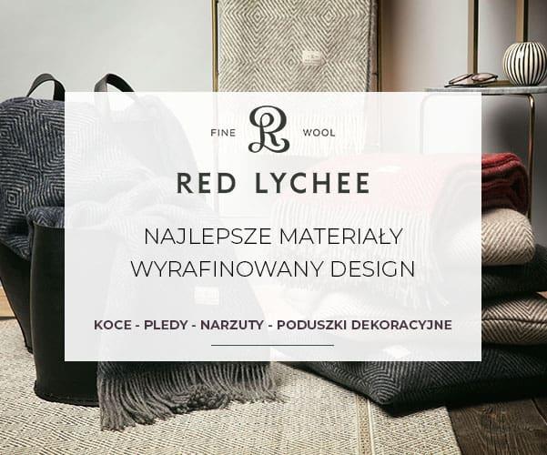 Red Lychee - Koce i Pledy z Najlepszej Wełny i Kaszmiru